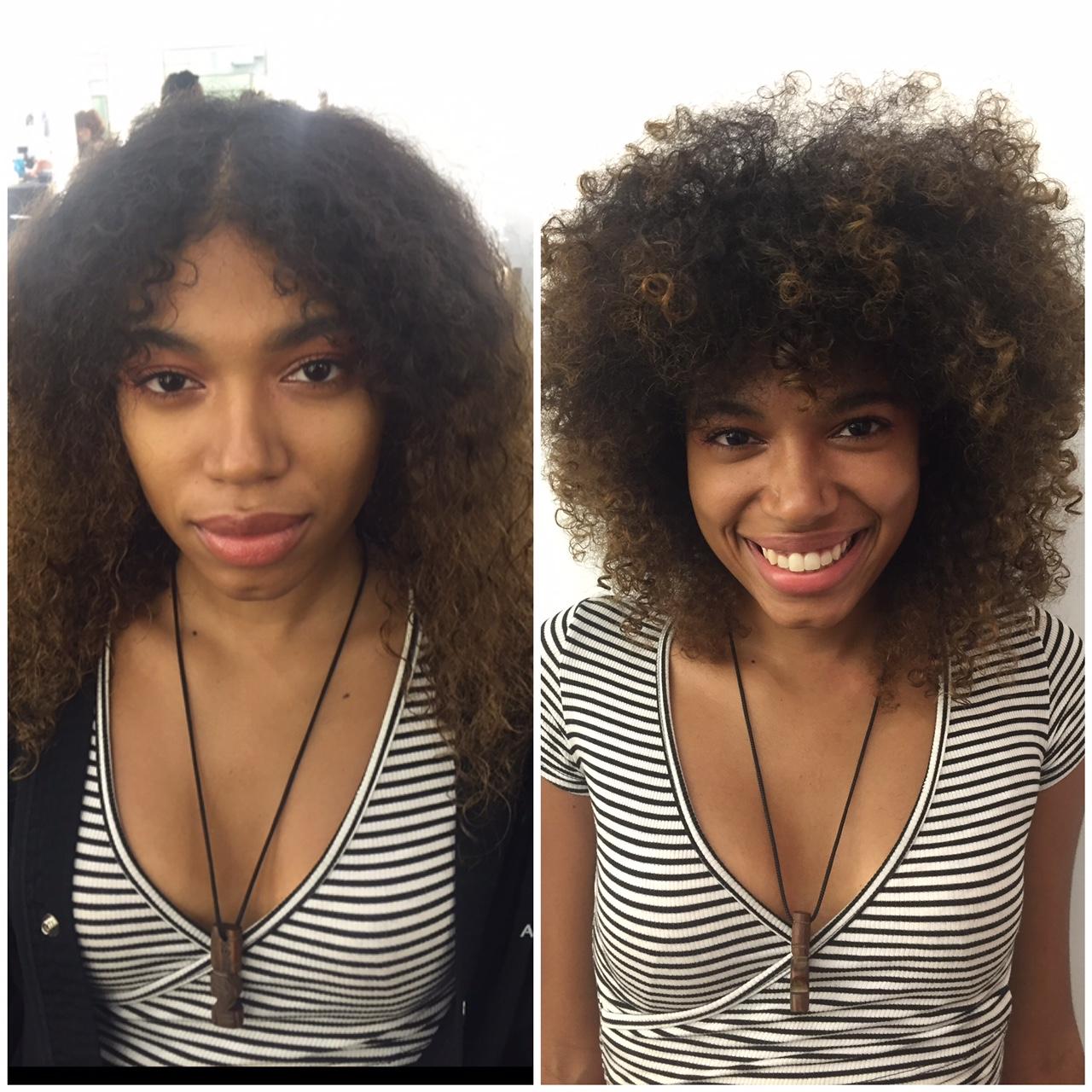 Hair cut & Diffuse