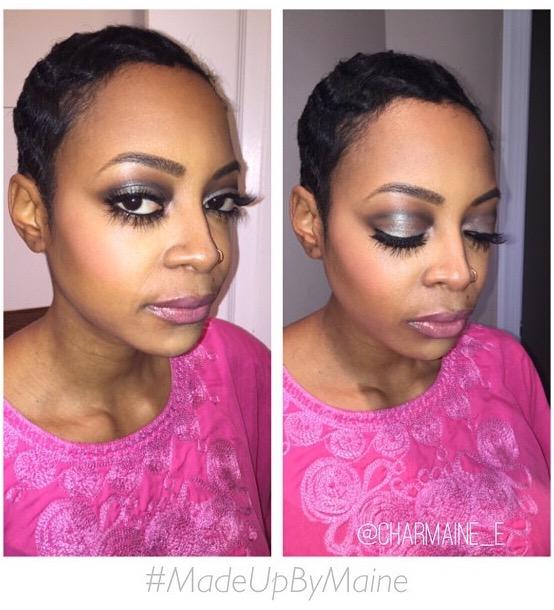 Diana Ross inspired makeup