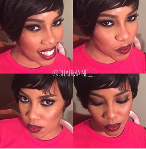 Makeup makover