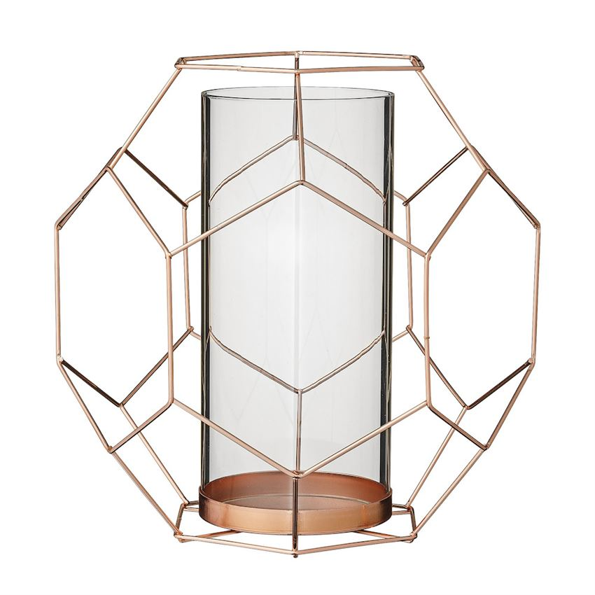 COPPER GEOMETRIC HURRICANE