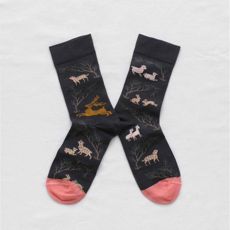 FOREST ANIMALS SOCKS