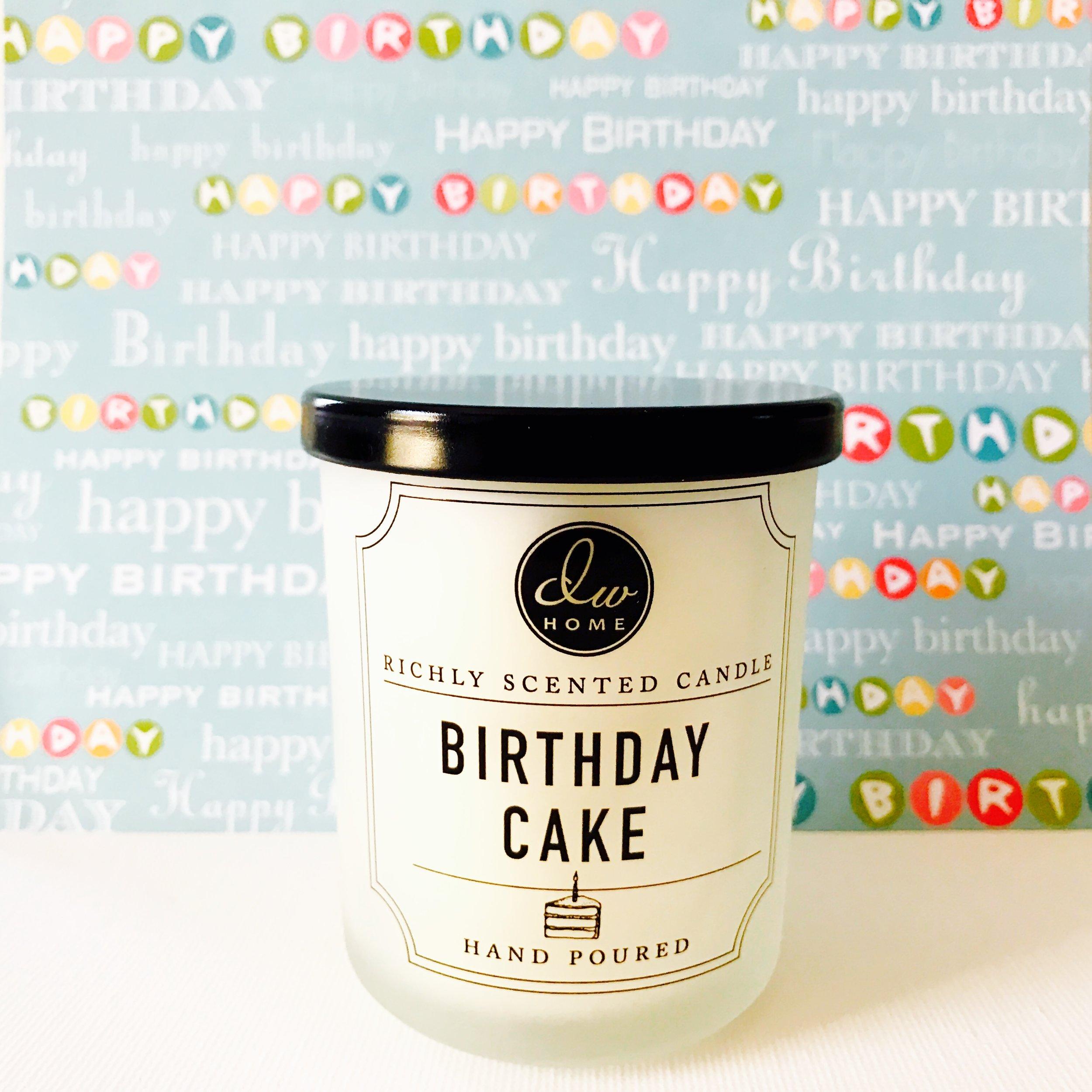 BIRTHDAY CAKE IN A JAR.