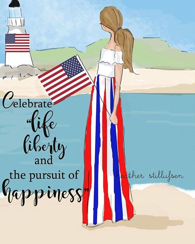 Happy 4th of July! 🇺🇸🎉 #freedom #fourthofjuly #redwhiteandblue #independenceday
