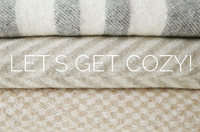 """I'm so glad I live in a world where there are Octobers"" We are so ready to get #cozy with soft blankets and fluffy socks."