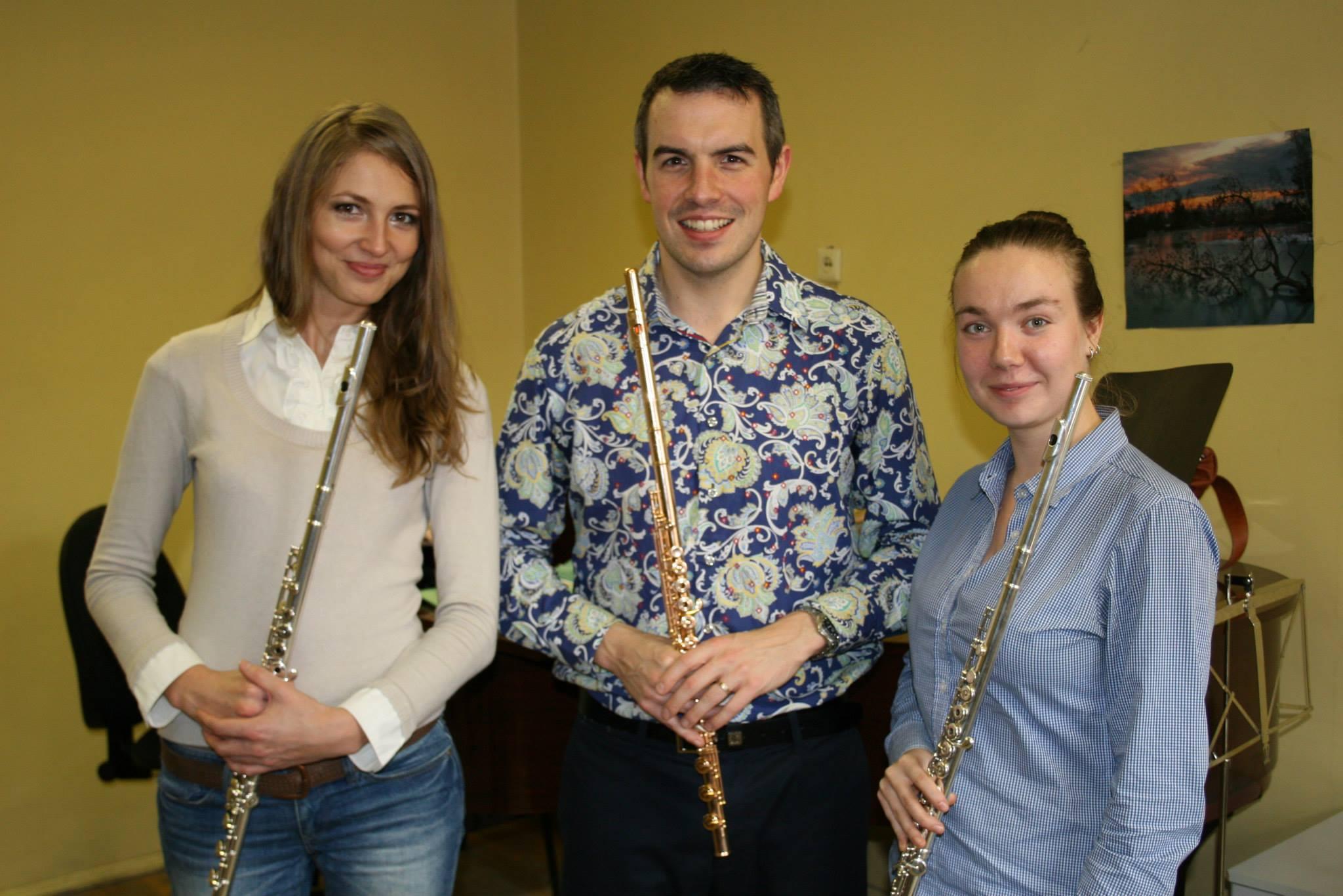 Yekaterinburg Flute Students