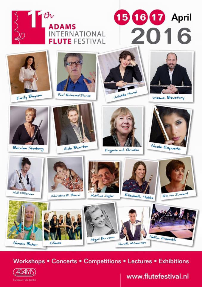 The Adams International Flute Festival