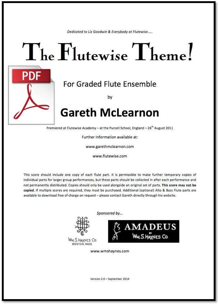 Flutewise Theme - Low Flutes    Alto Flute Bass Flute
