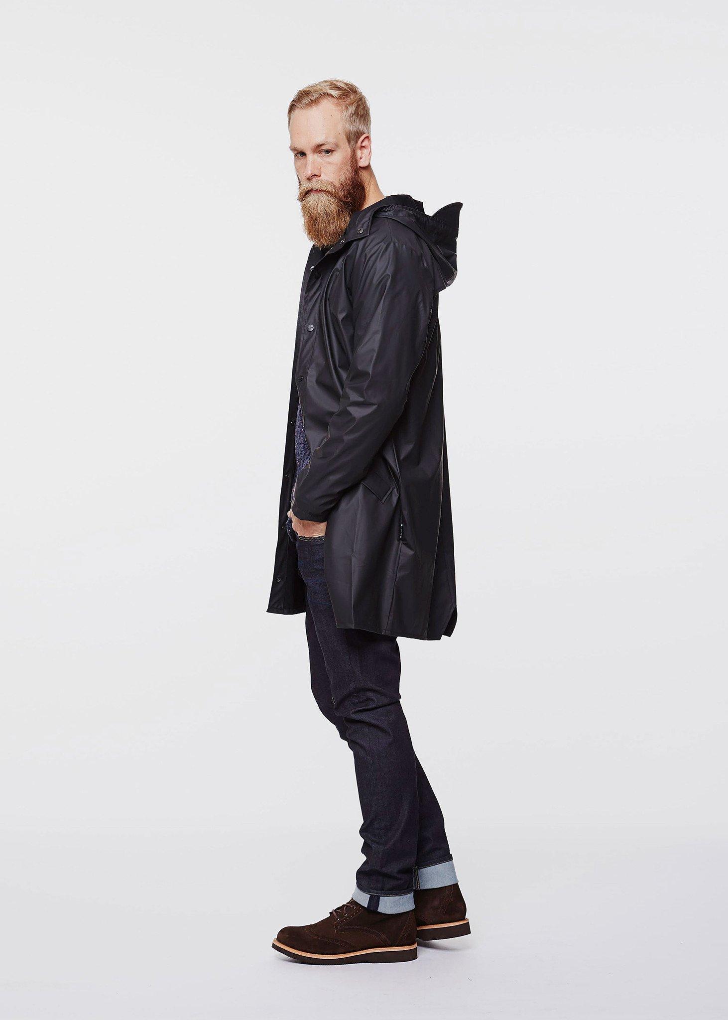 Base Long jacket -  RAINS