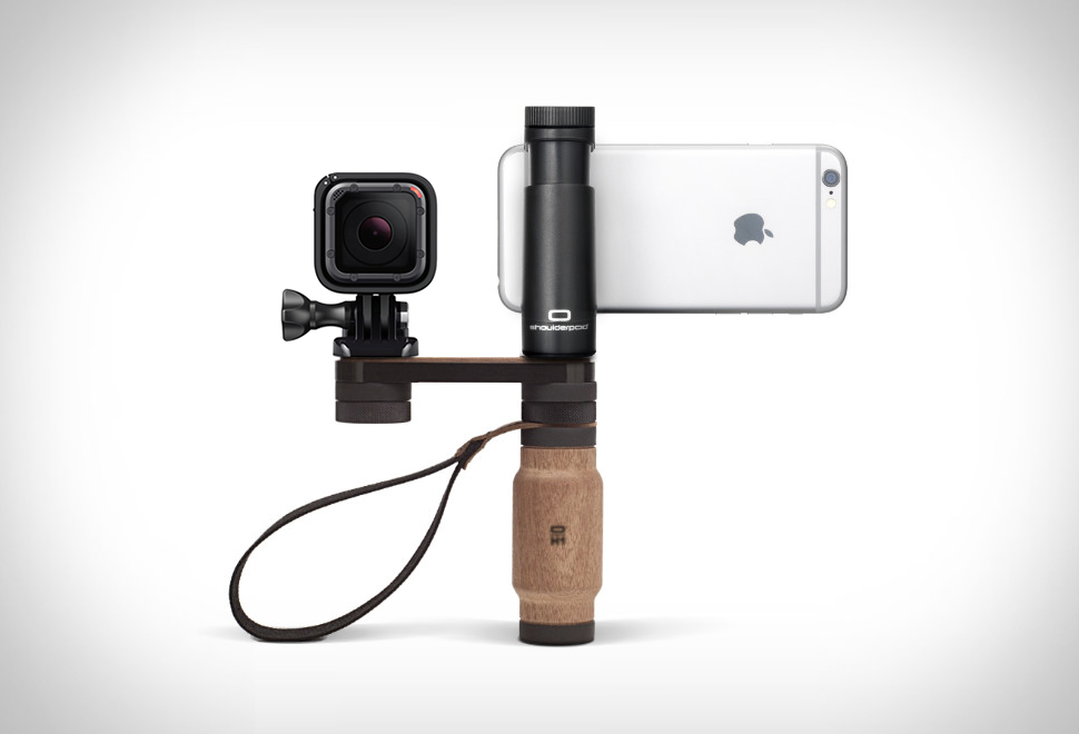Shoulderpod Modular Smartphone Rig - Bless This Stuff
