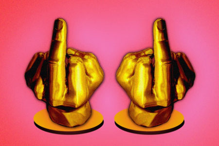 The Timelessness of the Middle Finger - MEL Magazine