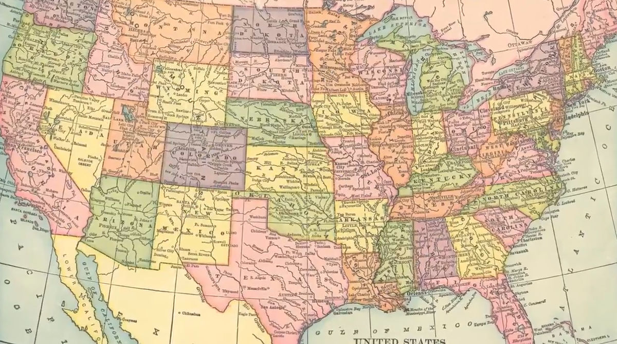 The Strange Geography of the United States - Real Life Lore