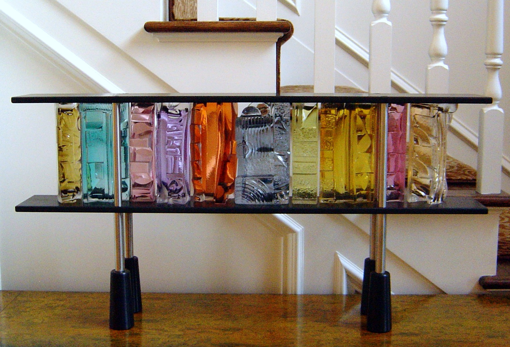 Art Glass, Michael Mikula, Architectonic Blown Glass Sculpture-059.jpg