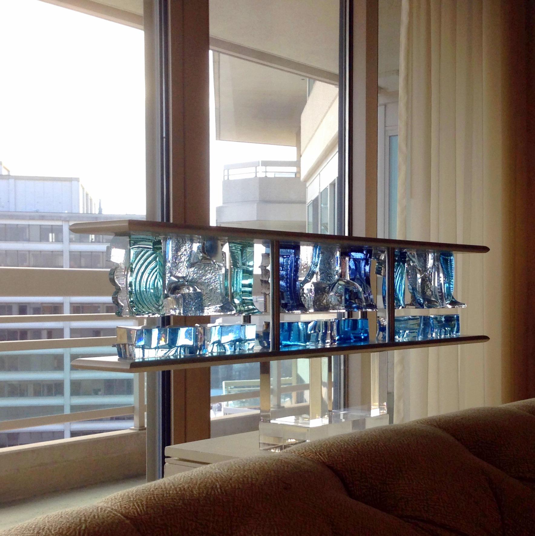 Art Glass, Michael Mikula, Architectonic Blown Glass Sculpture-062.jpg