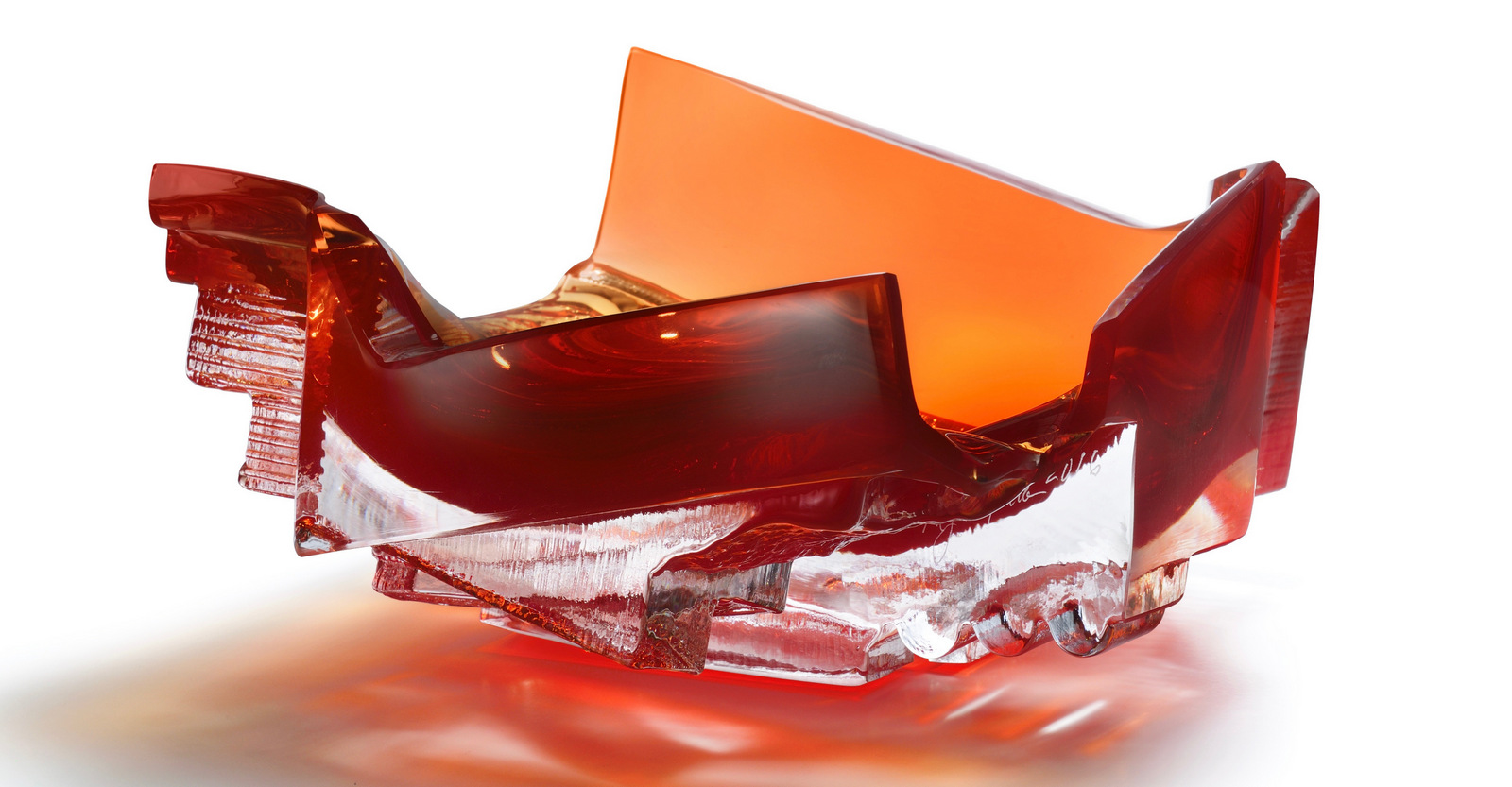 RED SLED,  9 x 8 x 5.5 inches