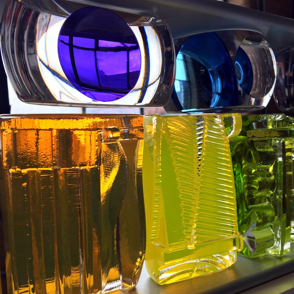 Art Glass, Michael Mikula, Architectonic Blown Glass Sculpture-043.JPG
