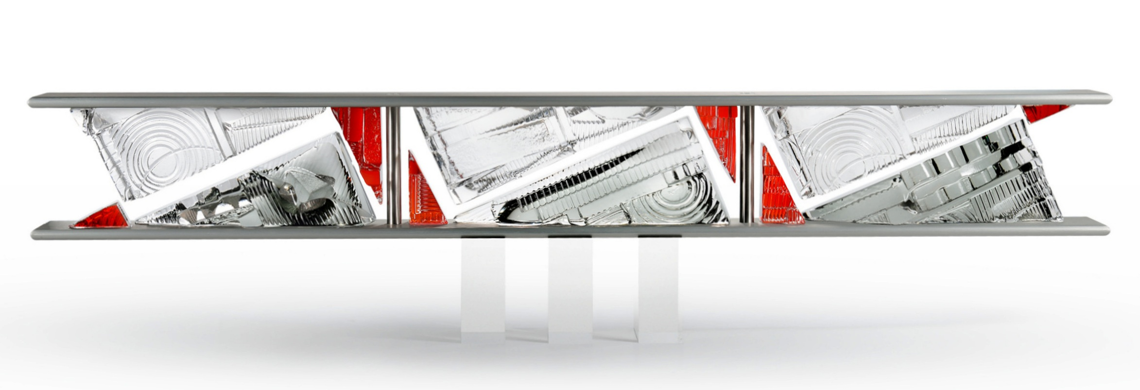 RAZZLE DAZZLE II,  36 x 3 x 4.75 inches,   $4800