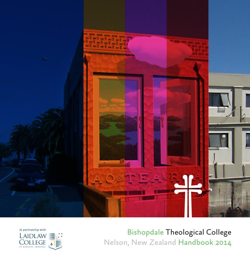 Bishopdale Theological College – Handbook Design 2014 (detail)
