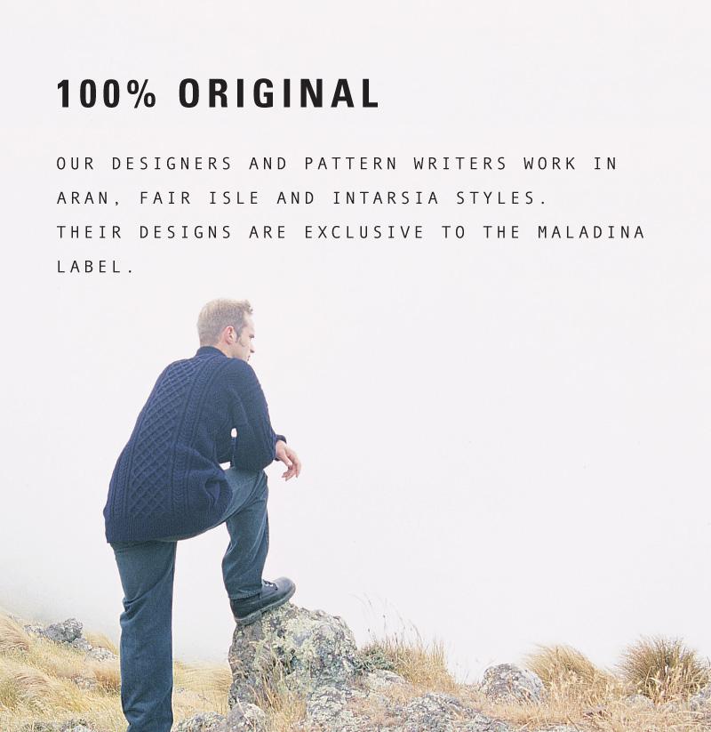 Maladina – Corporate profile for fashion label.