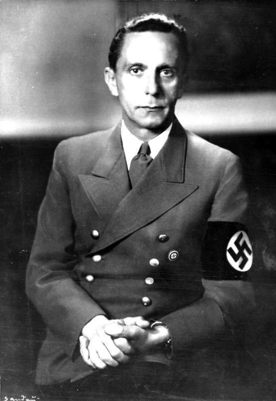 Joseph Goebbels, Nazi propaganda chief