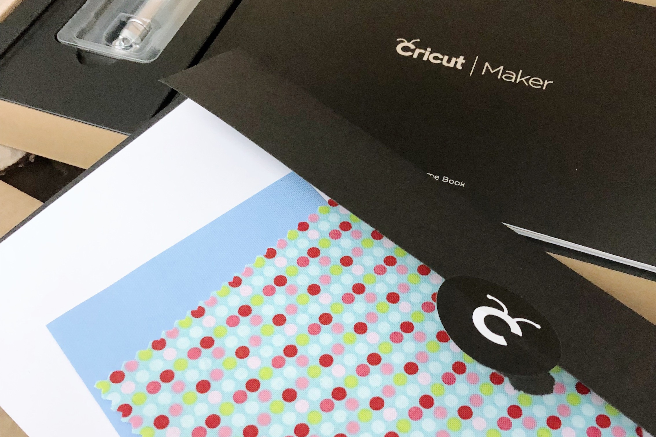 These materials included for a first-project were so thoughtfully packaged inside a sealed black envelope.