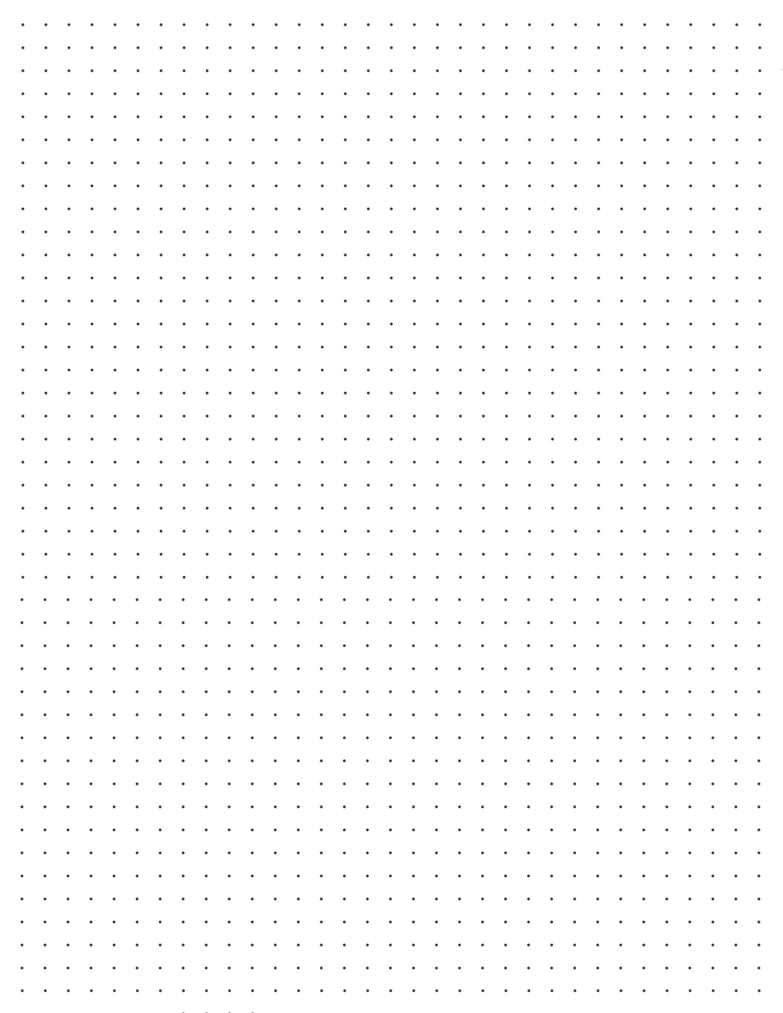 DOT GRID GUIDESHEET