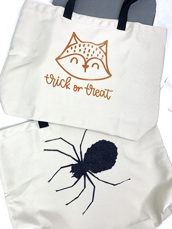 Cricut Infusible Ink Halloween Treat Bags