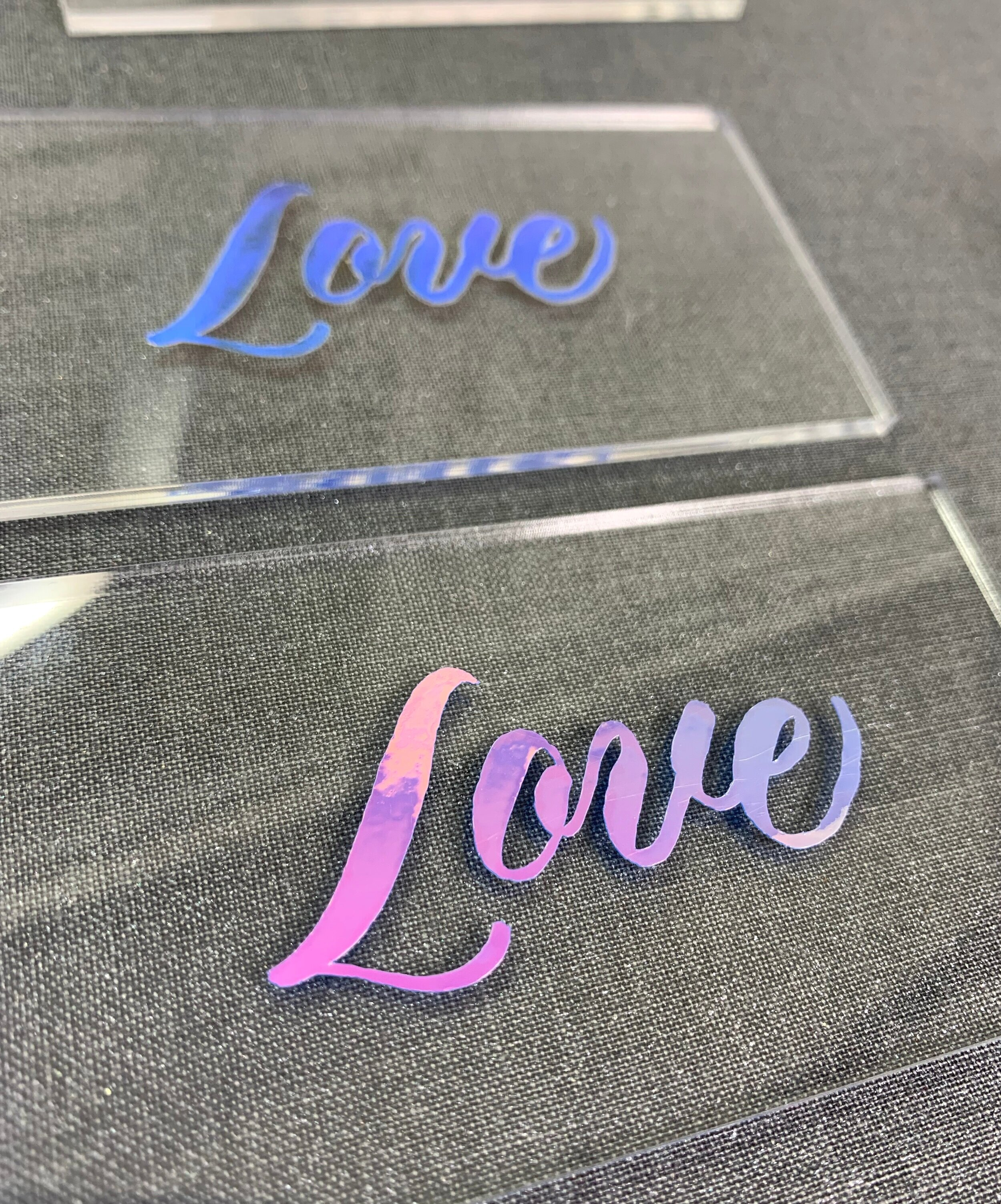 How to write on acrylic . Five easy ways to add calligraphy on glass.