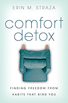 Comfort Detox - Finding Freedom from Habits that Bind YouErin M. Straza writes beautifully of letting go the false comfort we cling to in order to get hold of the true Comforter, the Holy Spirit. Erin isn't Catholic, but the way she talks about Jesus resonates deeply in me, especially concerning the nature of suffering.Purchase Comfort Detox through my affiliate link (button below) to support Fat, Catholic, & Loved.
