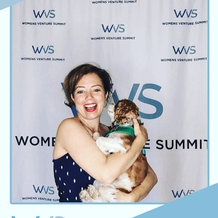 #wvs2019 Ollie and me celebrating all of the brilliant and talented female entrepreneurs that came out today to the Women's Venture Summit @usd_business