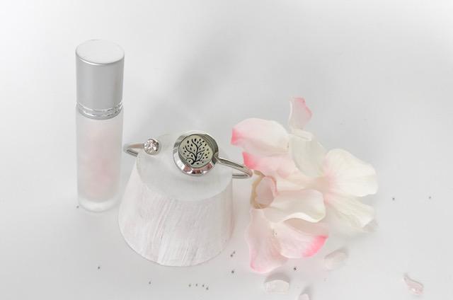 Cherry Blossom essential oil bangle