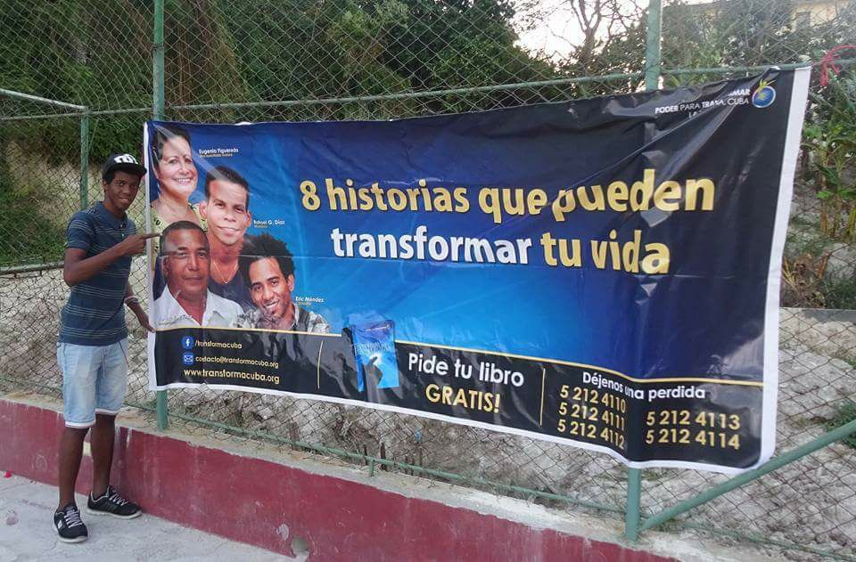 Power To Transform campaign promotion in Havana, Cuba.