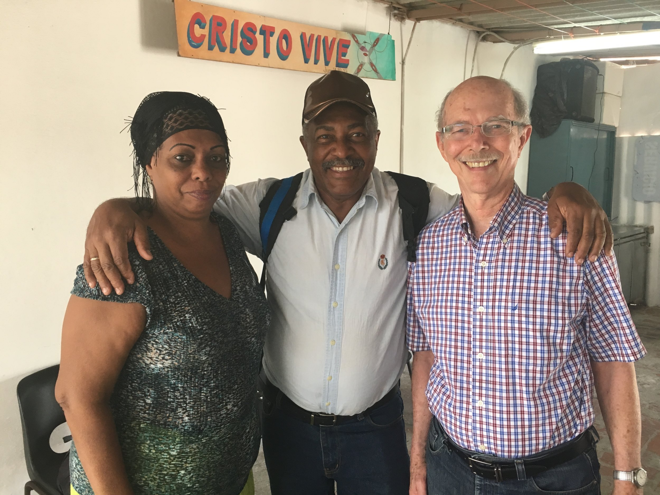 Havana pastors - Two of the hundreds of pastors who worked together for the PPT campaign--and saw an unprecedented unity developing in the Body of Christ.