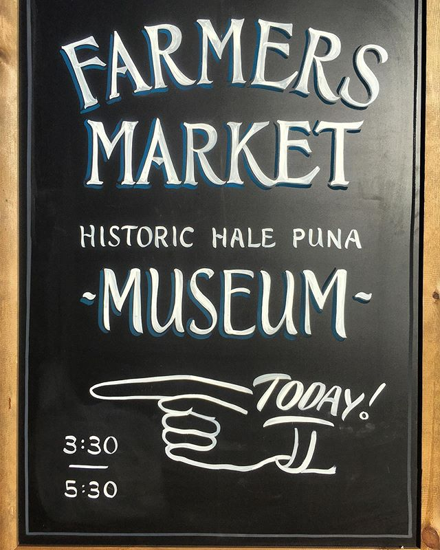 Really loving our new signs by @letter.queen ! Farmers Market today 3:30-5:30! If you want produce and can't make it at that time we are open by appointment and we always accept FOODSTAMPS!