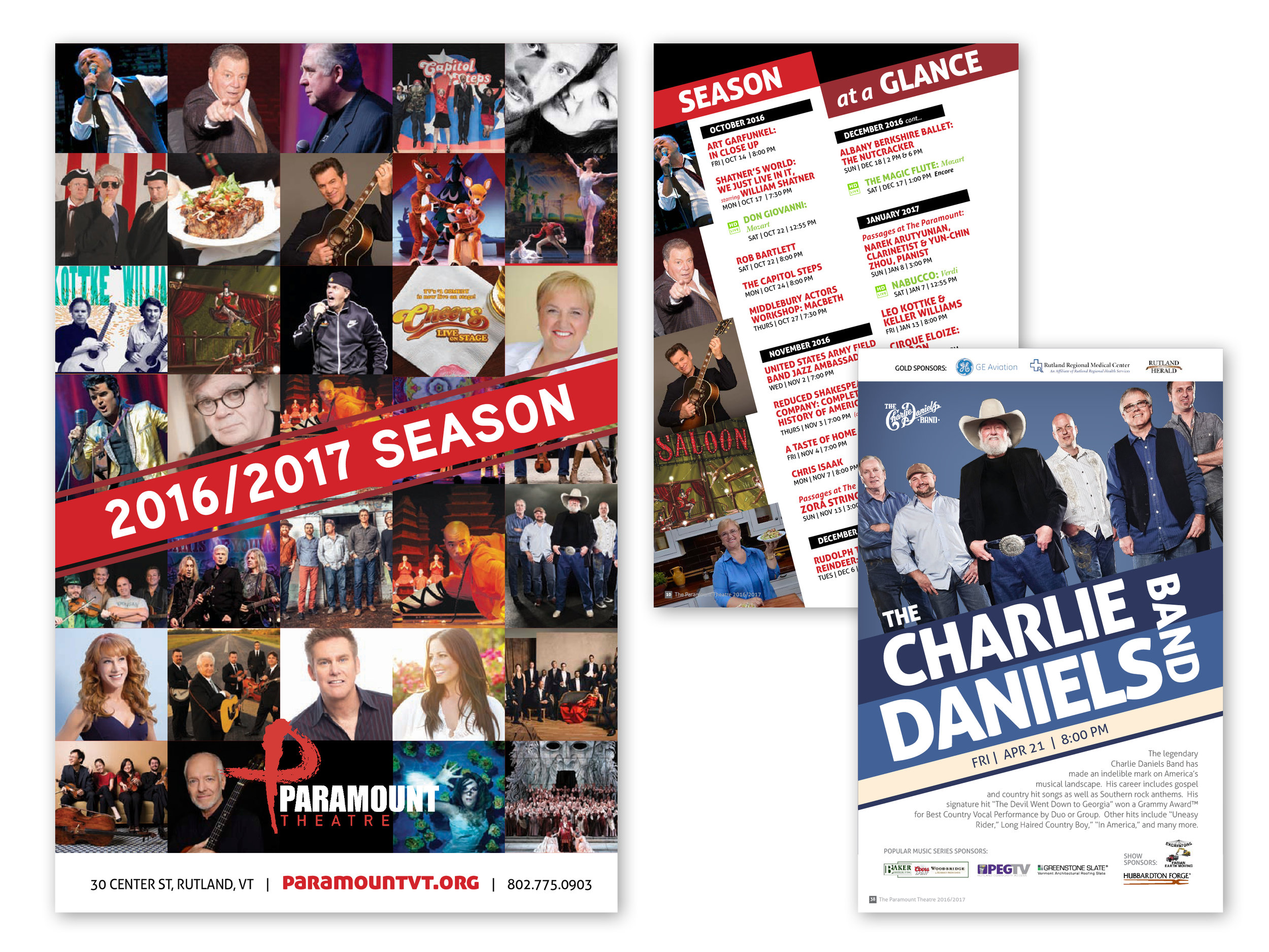 2016/17 Season Playbill, 96 pages