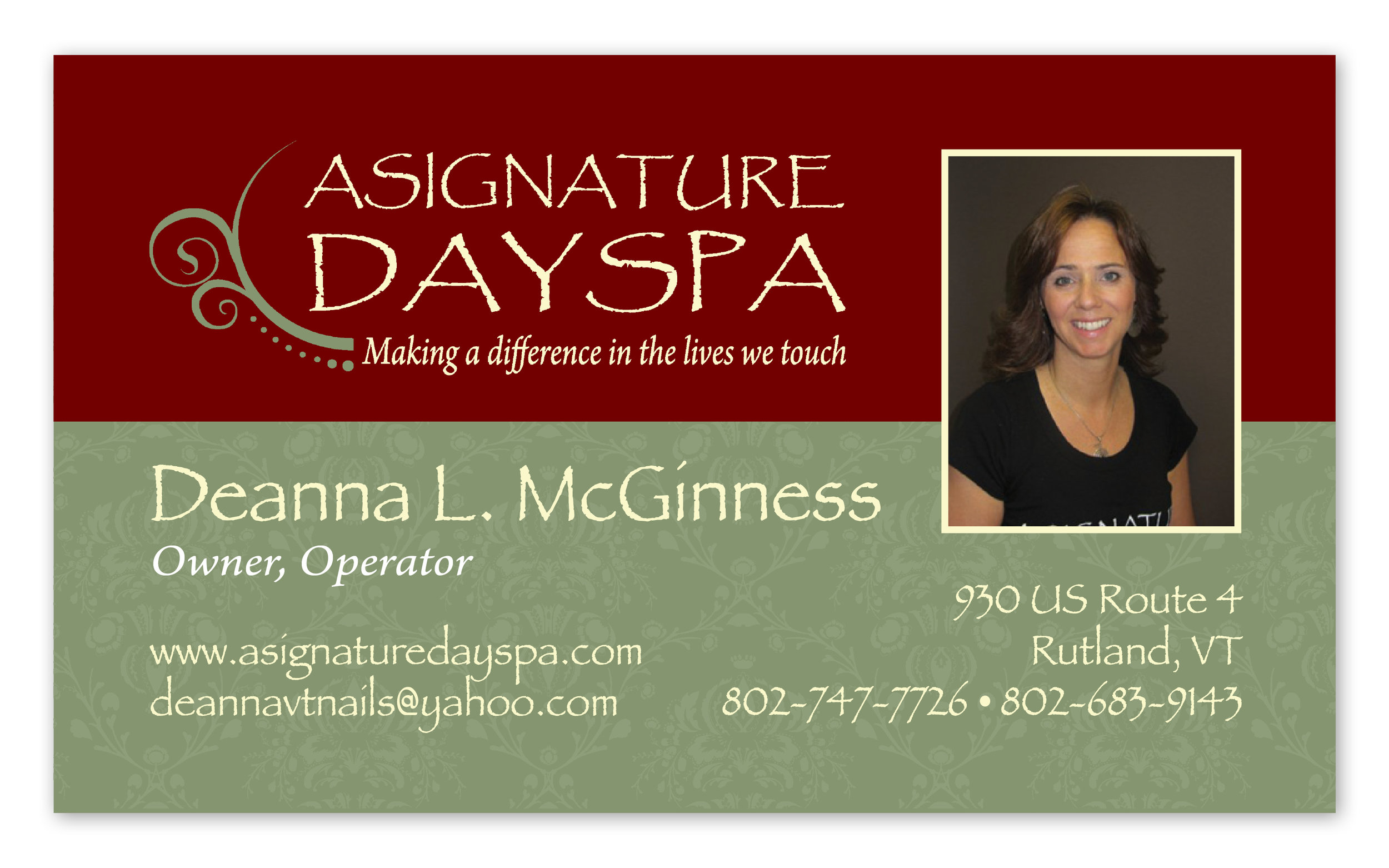 Client:  A Signature Day Spa