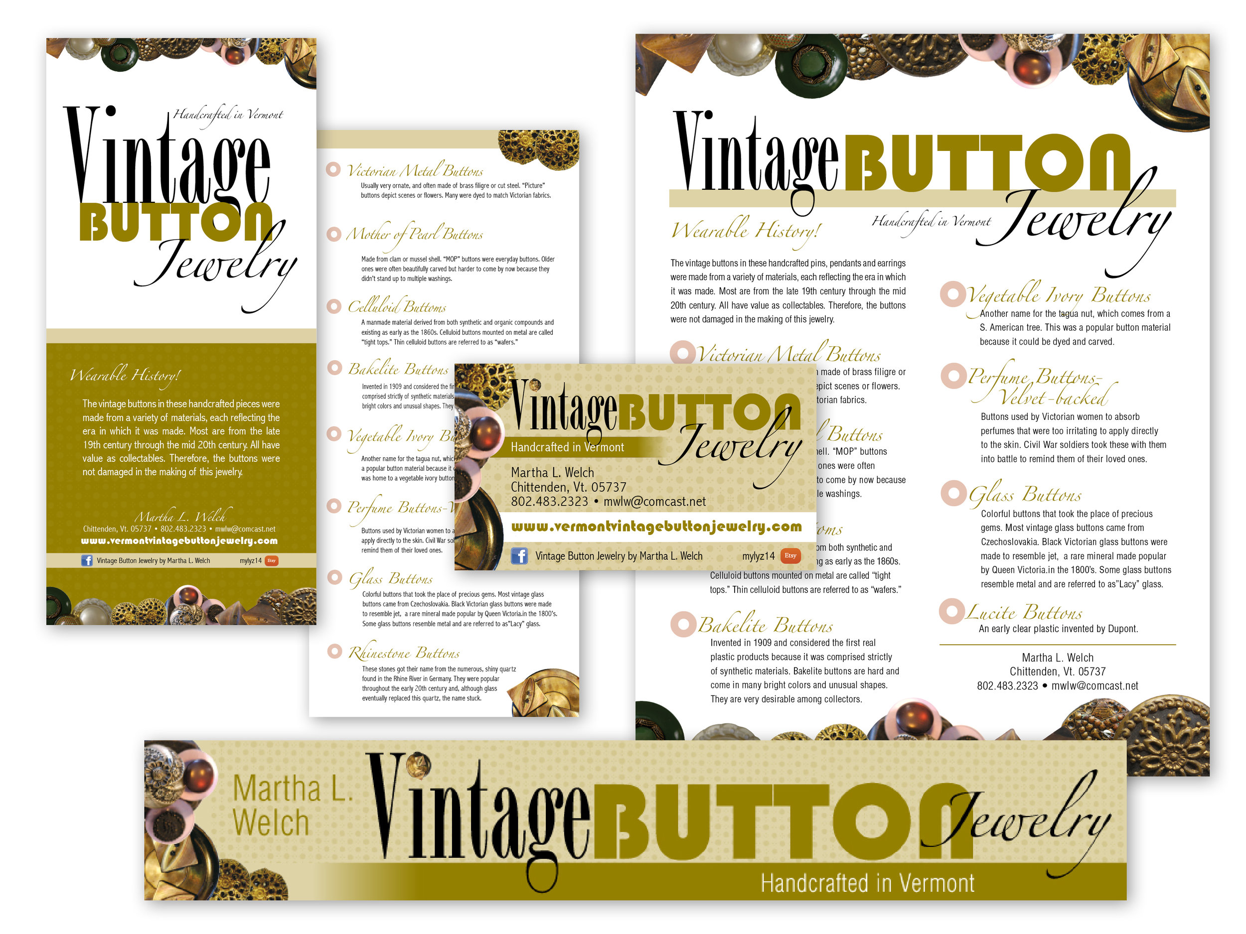 Rack Card, Business Card, Web Banner, Flyer