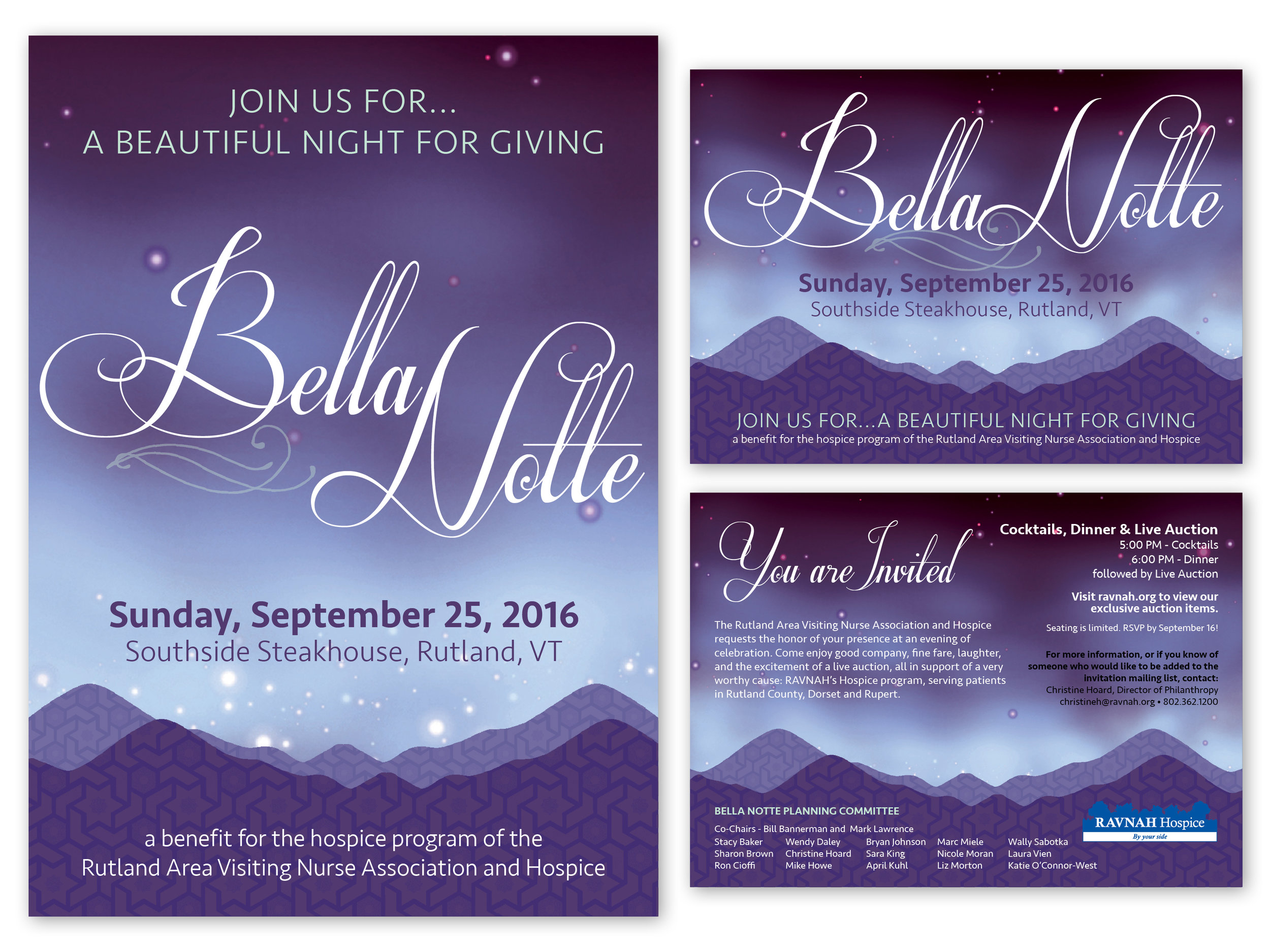 Fundraiser Event Invite & Save the Date