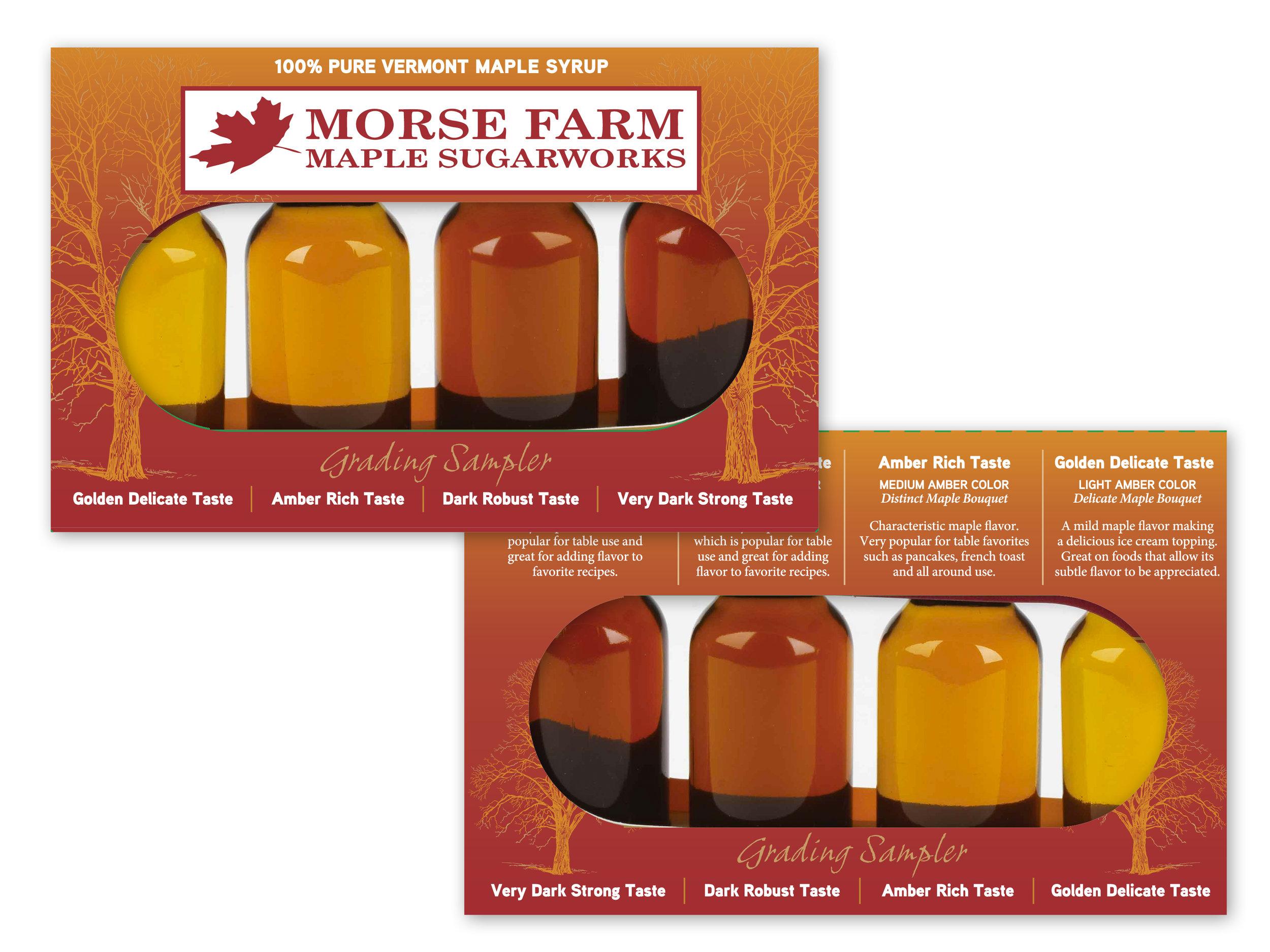 Maple Syrup Sampler Package