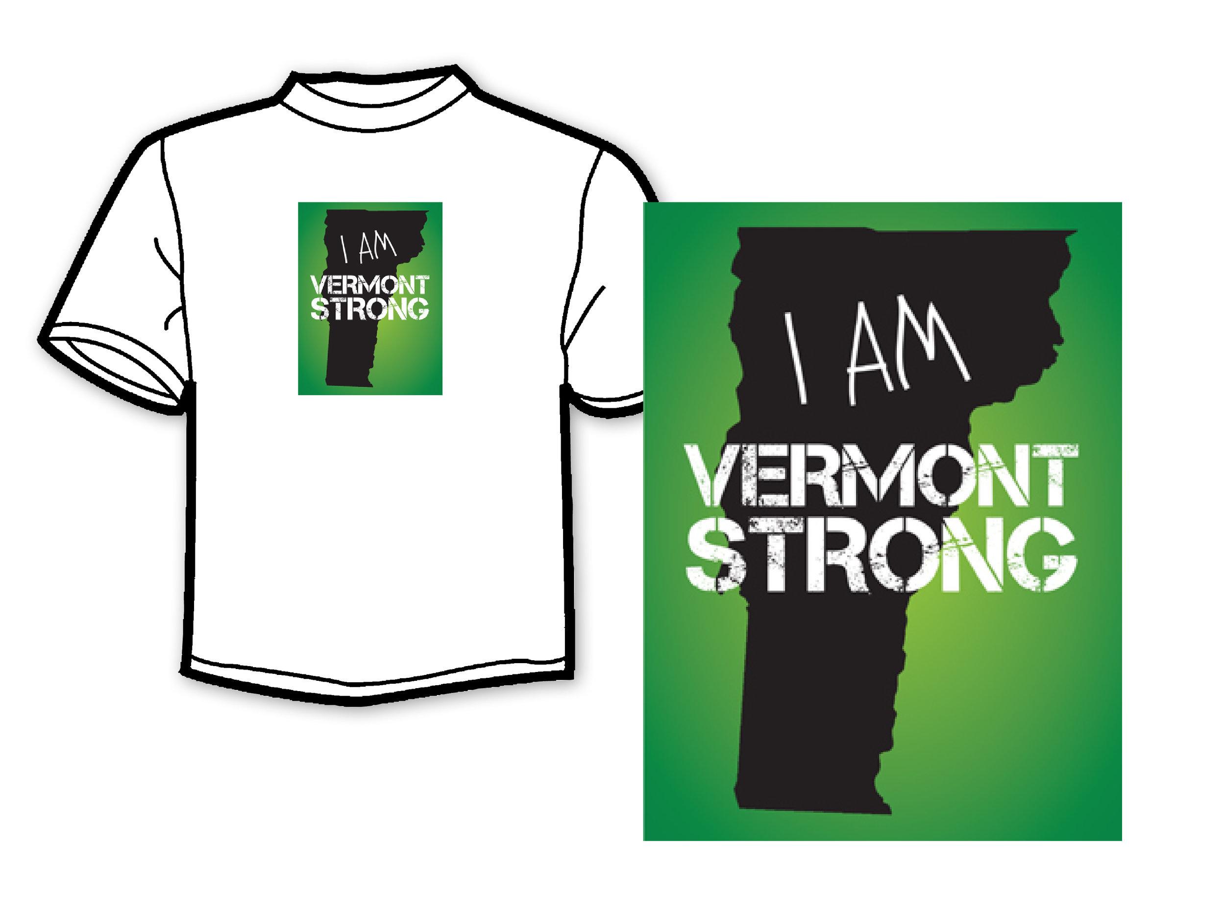 Fundraiser Campaign Logo & T-shirt