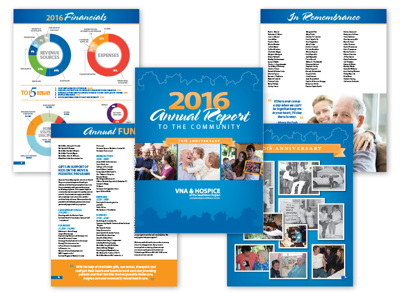 16-page Annual Report