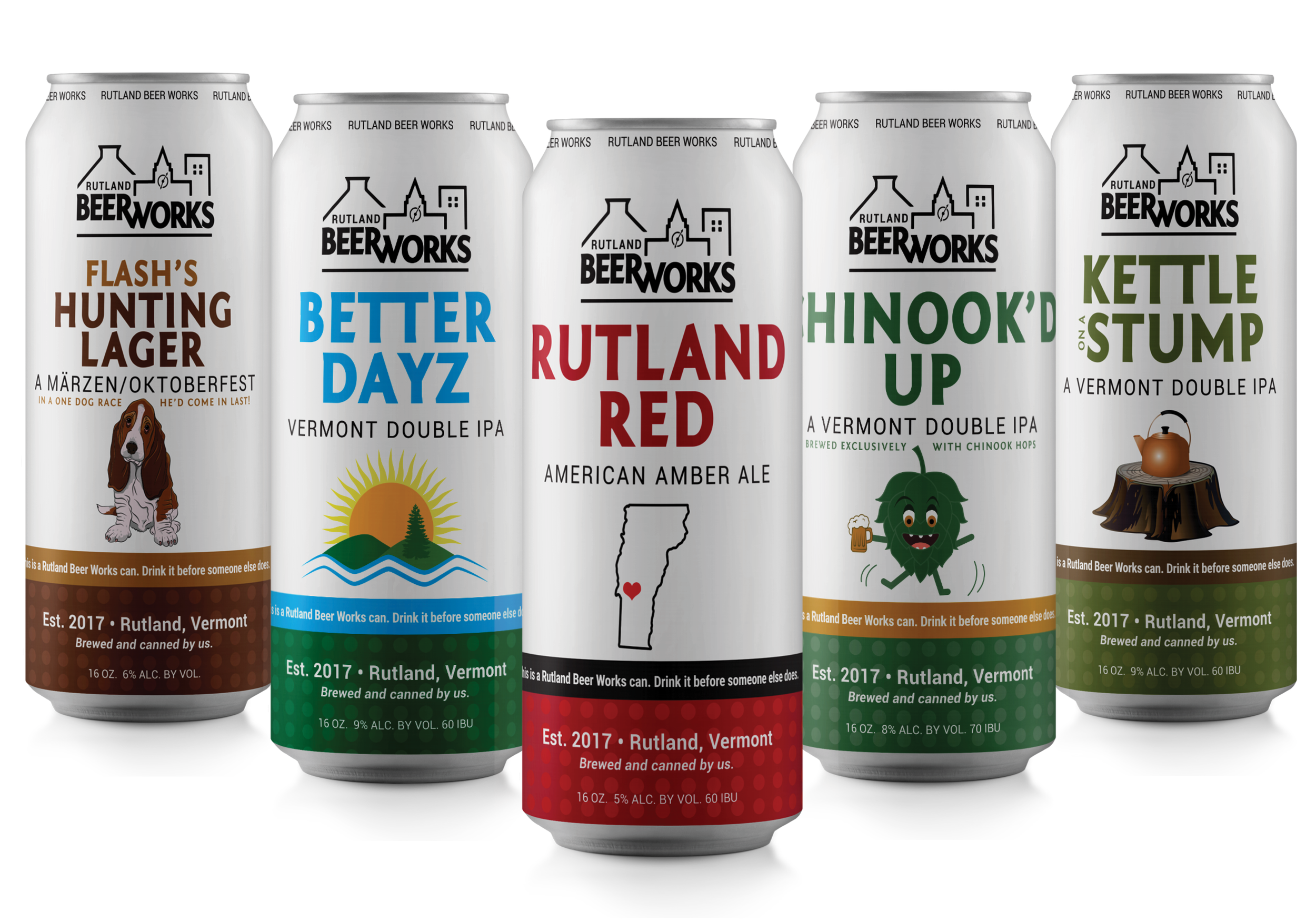 Beer Can Label series