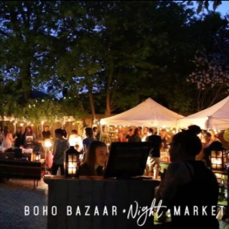 Boho Bazaar Night Market