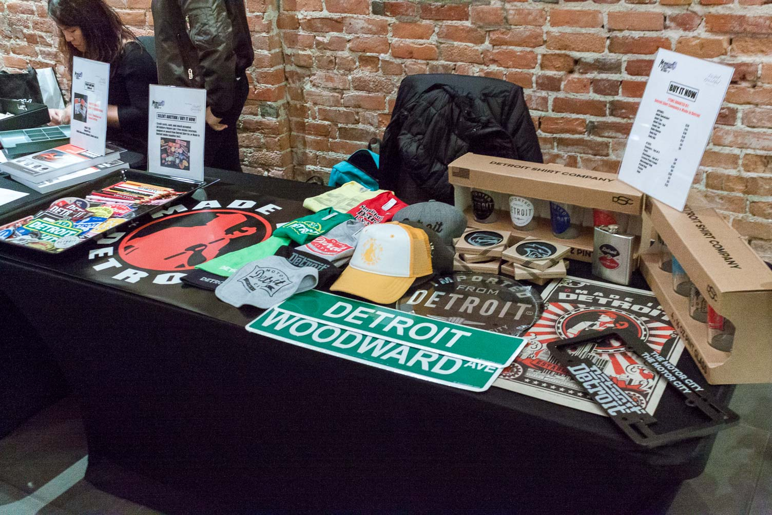 Some of our Buy It Now items donated by Detroit Shirt Co. & Made in Detroit!