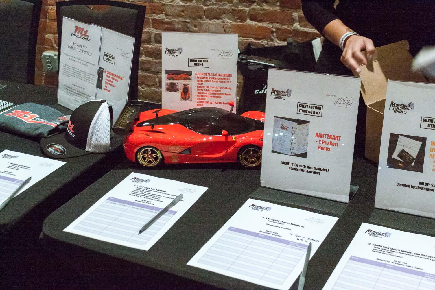 Awesome LaFerrari R/C car donated by F1 R/C Lab!