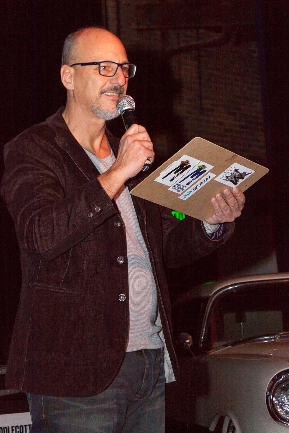 Frank Schwartz, event organizer!