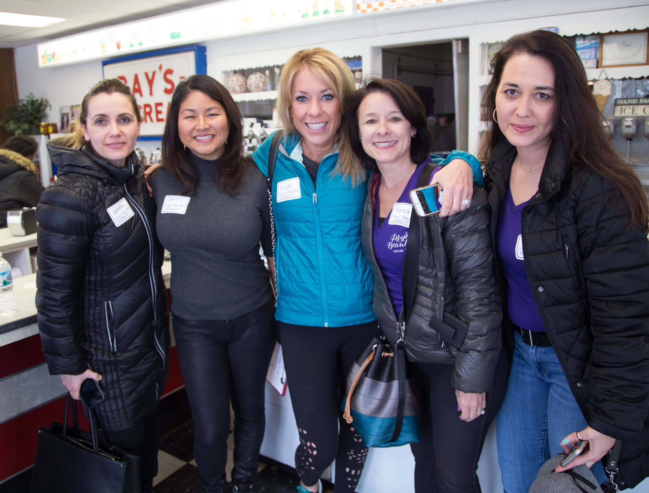Team Project Beautiful - Inside & Out - Natasha, Doris, Nicole, Nancy, Lisa!