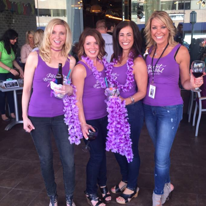 Beautiful ladies supporting Project Beautiful - Inside and Out!