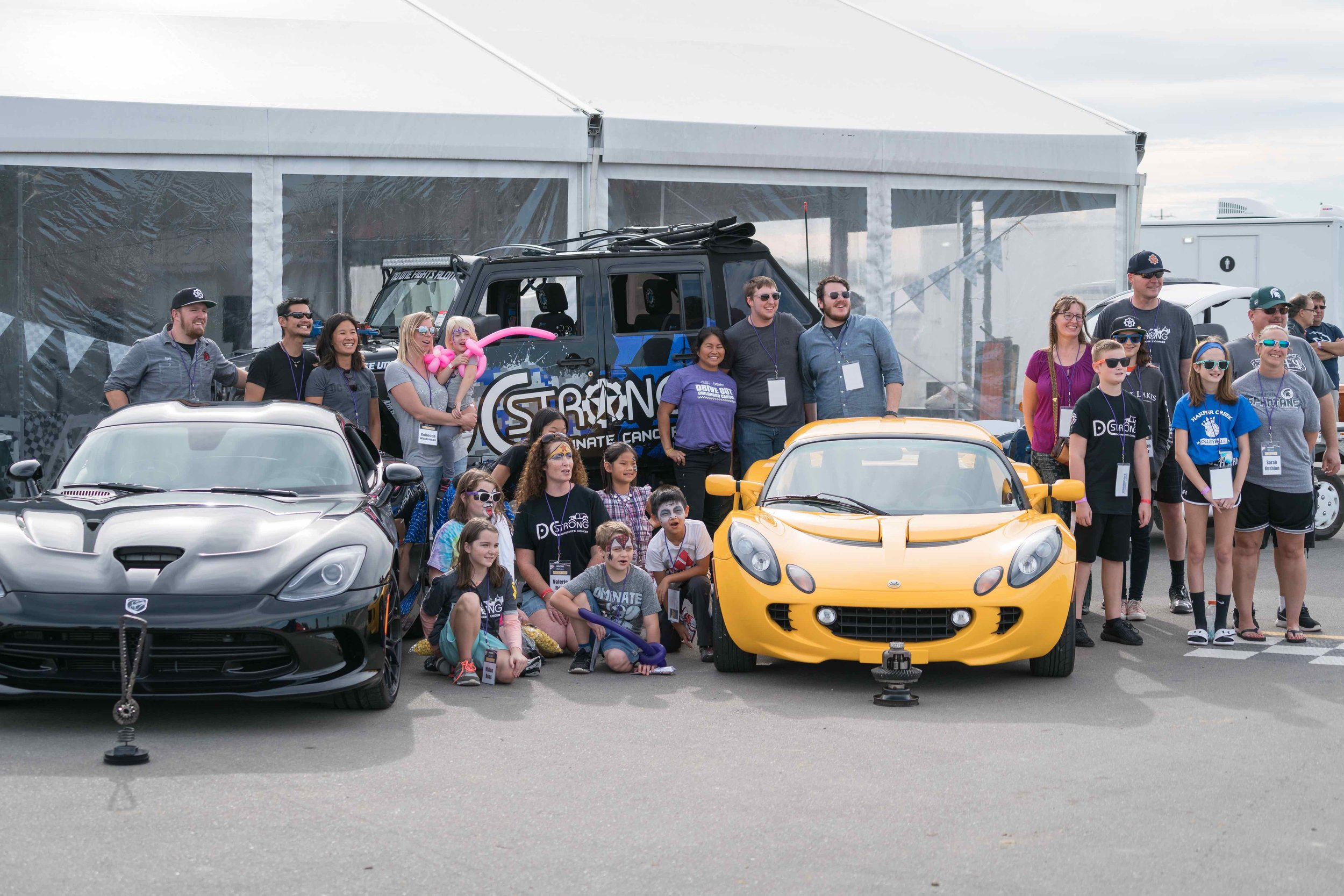 Drive Out Childhood Cancer!