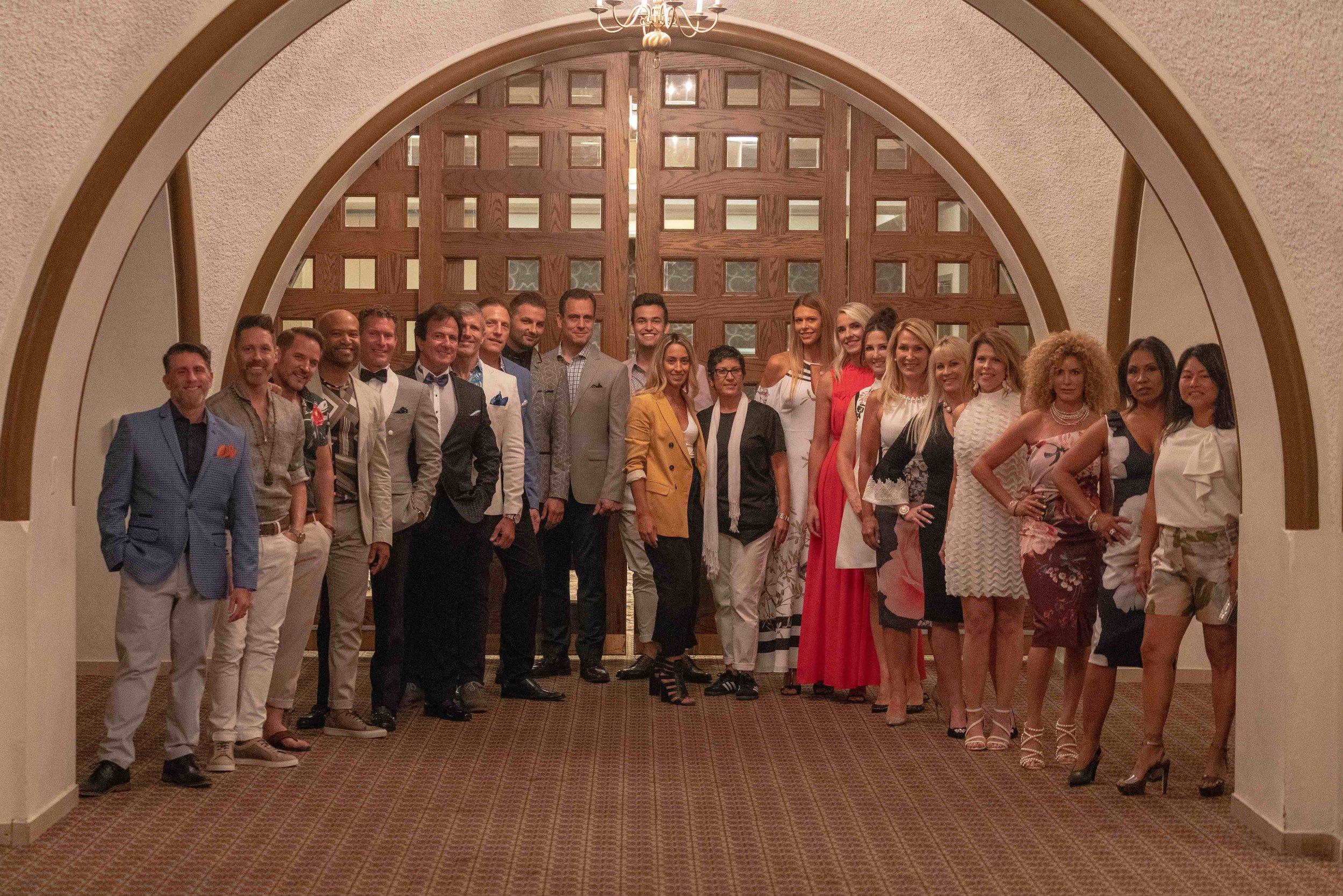 The amazing Fashion Show team!