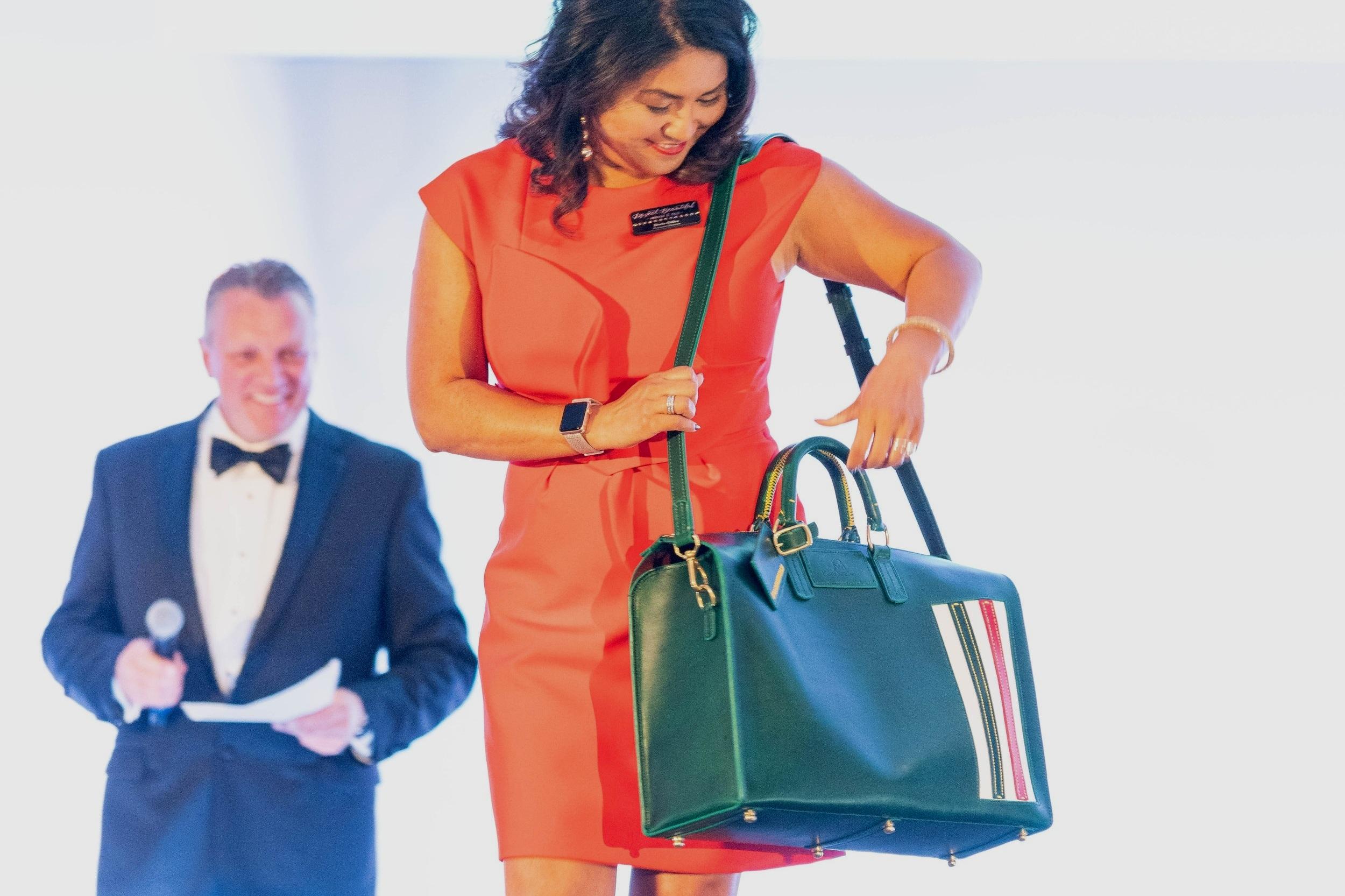 Bespoke Italian Race- Inspired Duffle Bag by Beau Satchelle, Detroit!